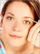 Plucking Eyebrows