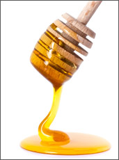 Honey Dripping from Dripper